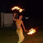 ohnivá tanečnice
