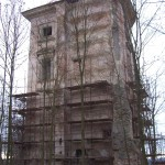 101_1545 zadní část věže v lednu 2007