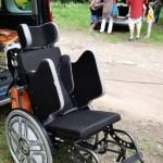 nový vozík Tomáše Rybičky z příspěvku v rámci Knoflíkiády