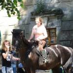 3-s jezdkyní na  Jitaně f.K.Šerkopová
