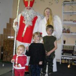13- Mikuláš s dětmi