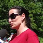 paní Kavuličová,zástupkyně nadačního fondu NFOZP
