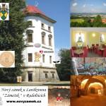 LOGO- VĚŽ s názvem Nového zámku u Lanškrouna + Srdcerváči
