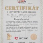 fotka certifikátu srdce drátované 2016