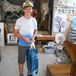 2-11 letý Antonín přebírá dar pro 25 000 návštěvníka