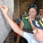 5- 25 000 návštěvník si zapichuje špendlík do návštěvní mapy Zámečku