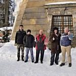 6-skupiny před věží f.Zdena Ledlová
