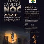POHÁDKOVÁ Hradozámecká noc 25.8. od 19.00
